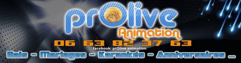 Logo DJ Olive - Prolive Animation - Gap - Hautes Alpes